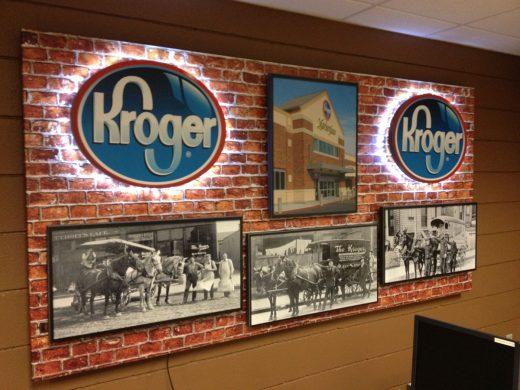 Kroger_Display_University_of_Louisville_Business_Center_LexJet_Spectra_Imaging_Gatorfoam_3