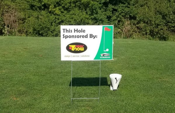 signs now lincoln coro golf sponsor sign 3